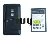 Microsoft Nokia Lumia 430 Lumia430 için 1800mAh BN06 BN06 BN 06 Yedek Pil + Evrensel USB Duvar Şarj