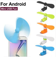 Portable Xiaomi Mini Micro USB type C Cool Flexible Fan Mobi...