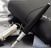 Greta Garbo monte black resin Fountain Pen   roller ball pen...