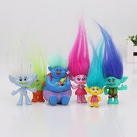 Dreamworks Trolls Toys Branch Critter Skitter pvc action Fig...