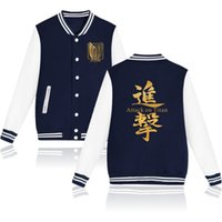 Sweatshirt Unisex Hot Angriff auf Titan Größe Marke Baseball Recon 2021 Mode Plus Jacke Großhandel - Baumwolle Hoodies Corps Kleidung Jkihd