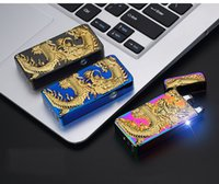 3D Eagle Dragon Arc Lighter USB Rechargeable Lighter Creativ...