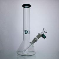 Tubi Beaker Bong acqua con 14 millimetri ciotola di vetro Vetro Spesso tubo di acqua di alta qualità trasporto veloce