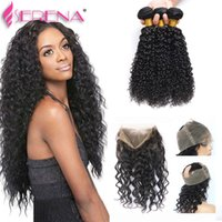 360 Lace Frontal with Bundle with Baby Hair Virgin Human Bra...