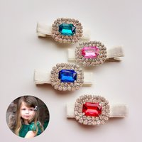 Everweekend Baby Girls Crystal Flower Hair Clips Hairpins Ro...