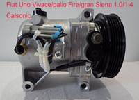 Calsonic Klimakompressor für Fiat Fire Palio / Weekend 1.0, 1.3 und 1.4 2004-2009 12V 5PK 119mm