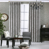 New Style Windows Curtain For Living Room Bedroom Hotel Gold...