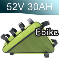 52V을 30ah 삼각형 리튬 이온 배터리 팩 긴 수명주기 슈퍼 파워