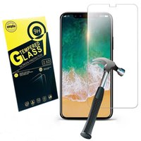 Tempered Glass Screen Protector for iPhone X 8 7 6 Plus Prem...