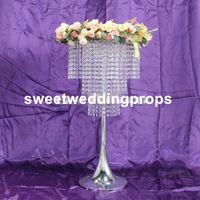 Nieuwe stijl bruiloft centerpieceswedding 111 gang way crystal stand tree kunstmatige bruiloft boom