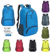 New high quality 35L Unisex Nylon Folding Backpack Waterproo...