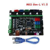 Freeshipping 3D 프린터 컨트롤러 Borad MKS Gen-L V1.0 Ramps1.4와 호환 MKS Gen L 지원 A4988 / DRV8825 / TMC2100 / LV8729