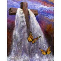 religion butterfly DIY Diamond Painting Embroidery 5D Handma...