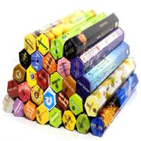 1 scatola di bastoncini di incenso Darshan fatti a mano bastoncini di incenso / incenso Fragranza multipla Decorazioni per la casa Lampade per fragranze Hot