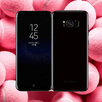 Real Fingerprint Goophone S8 S8 + смартфон MTK6580 Quad Core 5.5Inch сотовый телефон 1GBRAM 16GBROM Curve Screen 8MP Back Camera Ysinke Горячая продажа