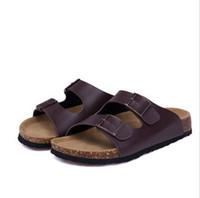 23 colori New Summer Beach San Valentino Slippers Sandali Casual Doppia fibbia Zoccoli Pantofole Donna Infradito Scarpa 35-45