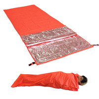 Ultralight Portable Survival Emergency Sleeping Bag Outdoor ...