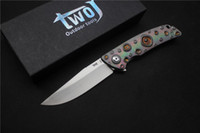Free shipping, High quality TWOJ 3501 Folding knife, Blade: S35...