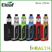 Authentic Eleaf iKonn 220 with ELLO Starter Kits with iKonn ...