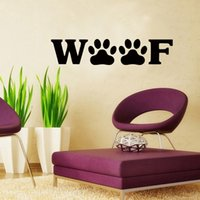 Wang Hot Dog Paw Art Pattern Sticker Stickers Bedroom Living...