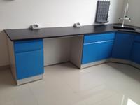 Customizd Medcial Labor Chemical Side Lab Tisch Stahl Labor Wandbank 4800x750x850mm