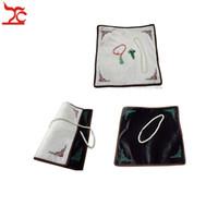 Ücretsiz Kargo Toptan 3 Adet Takı Ekran Sayaç 30 * 30 cm Beyaz Siyah Doubleface Kullanılan Takı Kolye Bilezik Yüzük Sergi Kürk Bezi
