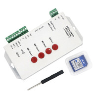 Edison2011 T1000 Pixels Controller SD Card Programmable RGB ...