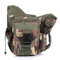 Mens Crossbody Military Leisure Oxford Shoulder Bag Multifun...