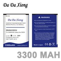 3300mAh EB494358VU Pil Samsung Galaxy Ace için 5830 S6802 B7510 i569 için i579 i679 S5660 S5670 S5830I S5838 S6102 S6108 S5830