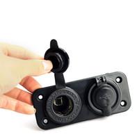1x Dual USB 12V Carregador Power Adapter Car isqueiro Splitter M00107 VPRD