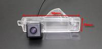 자동차 주차 카메라 / HD CCD 토요타 RAV4 XA30 2005 ~ 2012 (NO Spare Wheel On Door) 용 RCA NTST 라이센스 플레이트 라이트 OEM / 후면보기 카메라