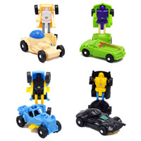 1200pcs lot 12 kinds different Mini Transformation Robot car...