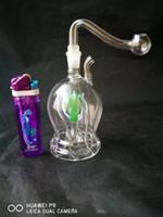 Nervürlü nargile cam bong aksesuarları, Cam Sigara Borular renkli mini çok renkli El Boruları En İyi Kaşık glas