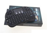 Mini Rii i8 2.4Ghz Englisch Tastatur Gaming Air Fly Maus Teclado Multi-Media Fernbedienung für Smart TV Laptop PC X-BOX MOQ: 50ST