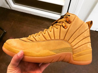 2017 Air Retro 12 XII PSNY x Wheat for mens Basketball Shoes...