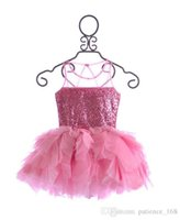 2017 avrupa amerikan tarzı sıcak satmak yaz güzel prenses dress jartiyer sequins kızlar dress pamuk karışımları zarif tutu dress