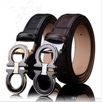 Top Quality Mens Business Belts Genuine Leather Cowskin Belt...