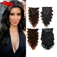 Hannah Unprocessed Body Wave Human Hair Clip In Extensions 1...