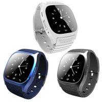 Bluetooth Smart Uhren Sport M26 Smartwatch Sync Anrufe Anti-verloren Für Android Phone Smartphones intelligente Elektronik
