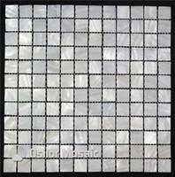 color blanco puro 100% de concha de mosaico de nácar de concha de agua dulce china para la decoración interior de la casa azulejo de la pared del baño y la cocina