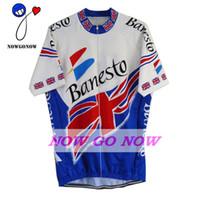 뜨거운 자전거 저지 영국 GB 남자 의류 자전거 착용 nowgonow 레트로 저지 여름 블루 프로 레이싱 로파 ciclismo mtb 도로 중국 bicicleta