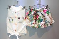 2 STÜCKE Kinder Baby Mädchen Kleinkind T-shirt Tops + Shorts Hosen Outfits Kleidung Set 2-7Y