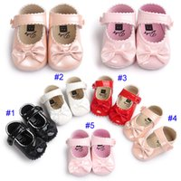5 Colour Baby girl paillette Princess shoes soft sole PU lea...