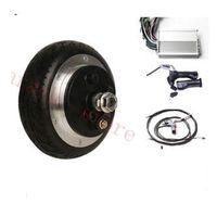 """6,5 """"250W 48V барабанный тормоз безщеточный электрический мотор-ступица колеса, 2 колеса электрический мотороллер комплект"""