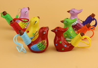 Seramik Su Kuş Düdük Benekli Ötleğen Şarkı Çocuk Çocuk Hediyeler Için Chirps Ev Dekorasyon Heykelcik