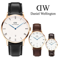 New fashion watches 40mm Men watches Daniel watches Rose gol...