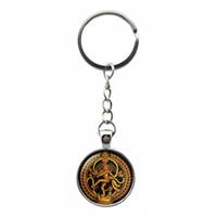 Golden Buddha Porte-clés pour voiture Porte-clés Sac Accessoires Danse de destruction Seigneur Shiva Pendentif bijoux bouddhiste Amulette Charme hindou