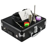 VAPECODE clavo aleación de aluminio caja eléctrica D E dab kit de uñas con clavo de titanio Gr2 para bong de vidrio a base de hierbas caja de control de temperatura