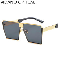 Vidano Optical Chegada Mais Recente Quadrado Do Vintage Óculos De Sol Para Mulheres Dos Homens de Alta Qualidade Unisex Designer de Óculos De Sol Estilo Clássico Eyewear UV400