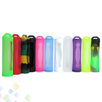 Cassa del silicone del 18650 Cassa del silicone della batteria Case del silicone della borsa della scatola di copertura colorata per la batteria Sony Samsung VTC4 VTC5 LG He4 Panason Mod Batteria